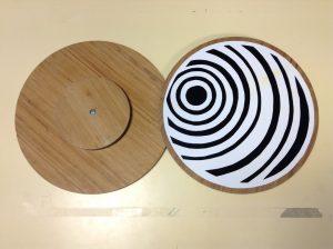 Disque noir et blanc