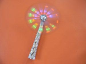 Moulin rotatif lumineux