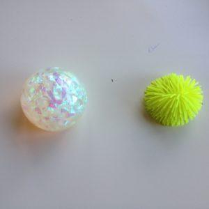 Balle - Matériel utilisé pour la poursuite visuelle