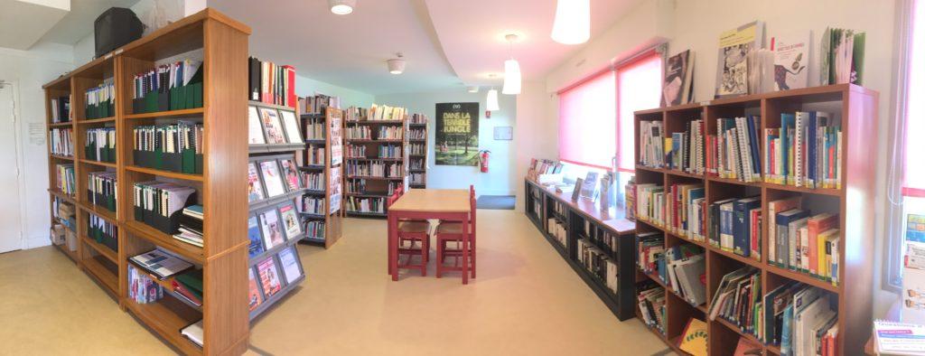 Photo du centre de documentation